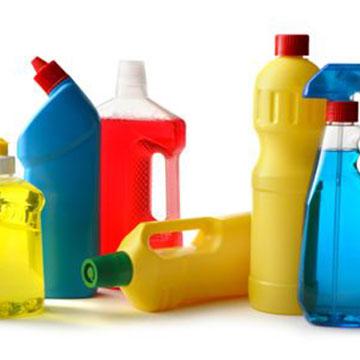 Comerin. Etiquetas adhesivas Sectores. Droguería y limpieza