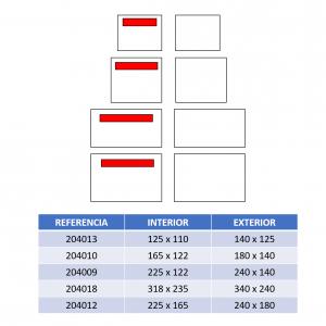formatos sobres packinglist